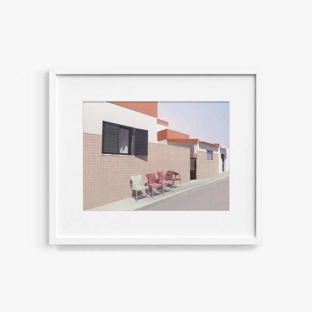 Four Chairs - Print - Anna Roberts - Tappan Collective
