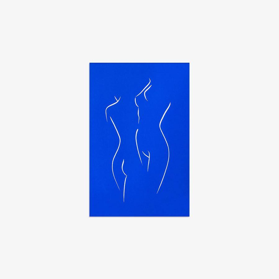 Klein Blue, Print  by  Klein Blue Tappan