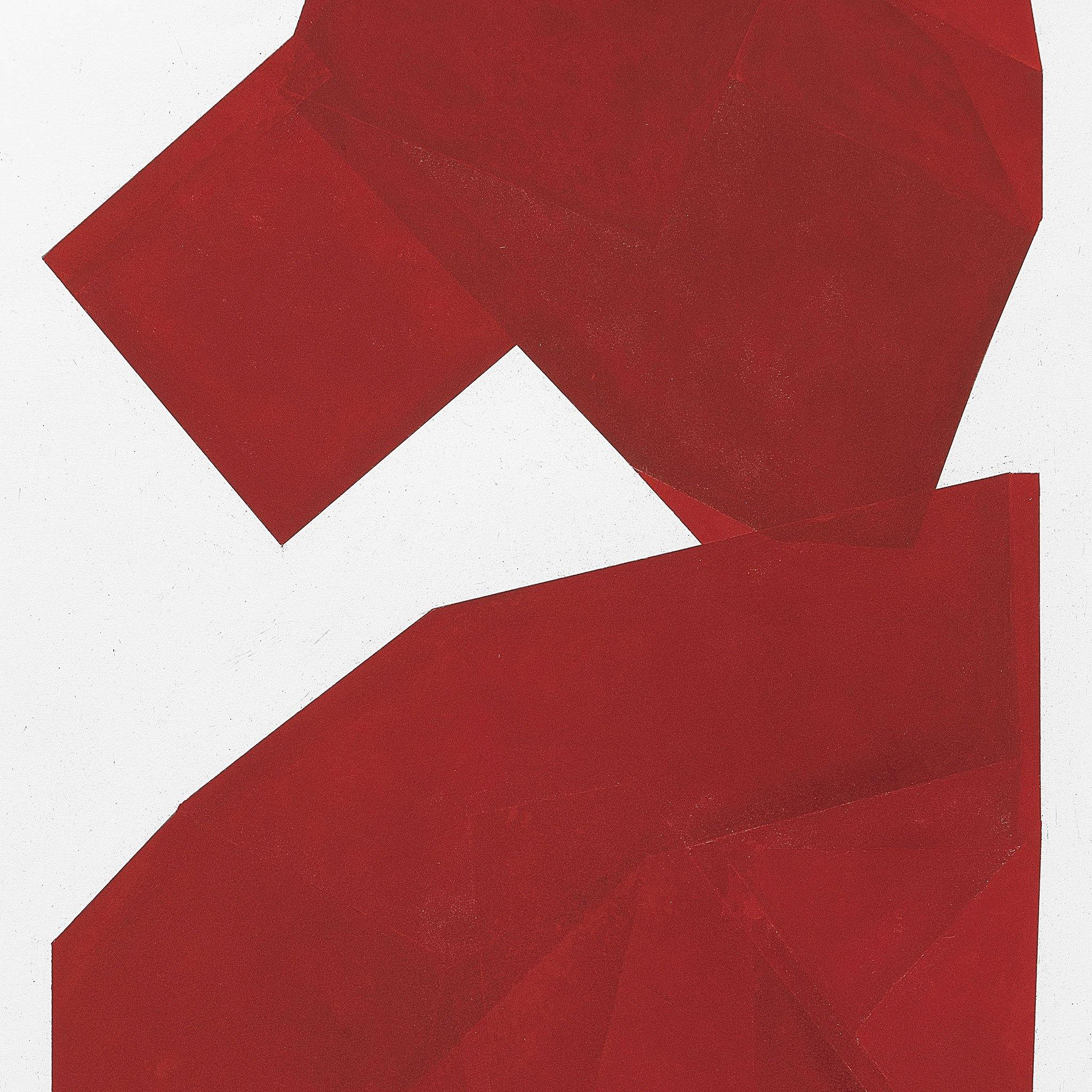 Red Mono I, Original Work on Paper  by  Red Mono I Tappan