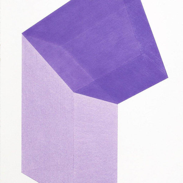 Accidental Happiness (vertical), Violet