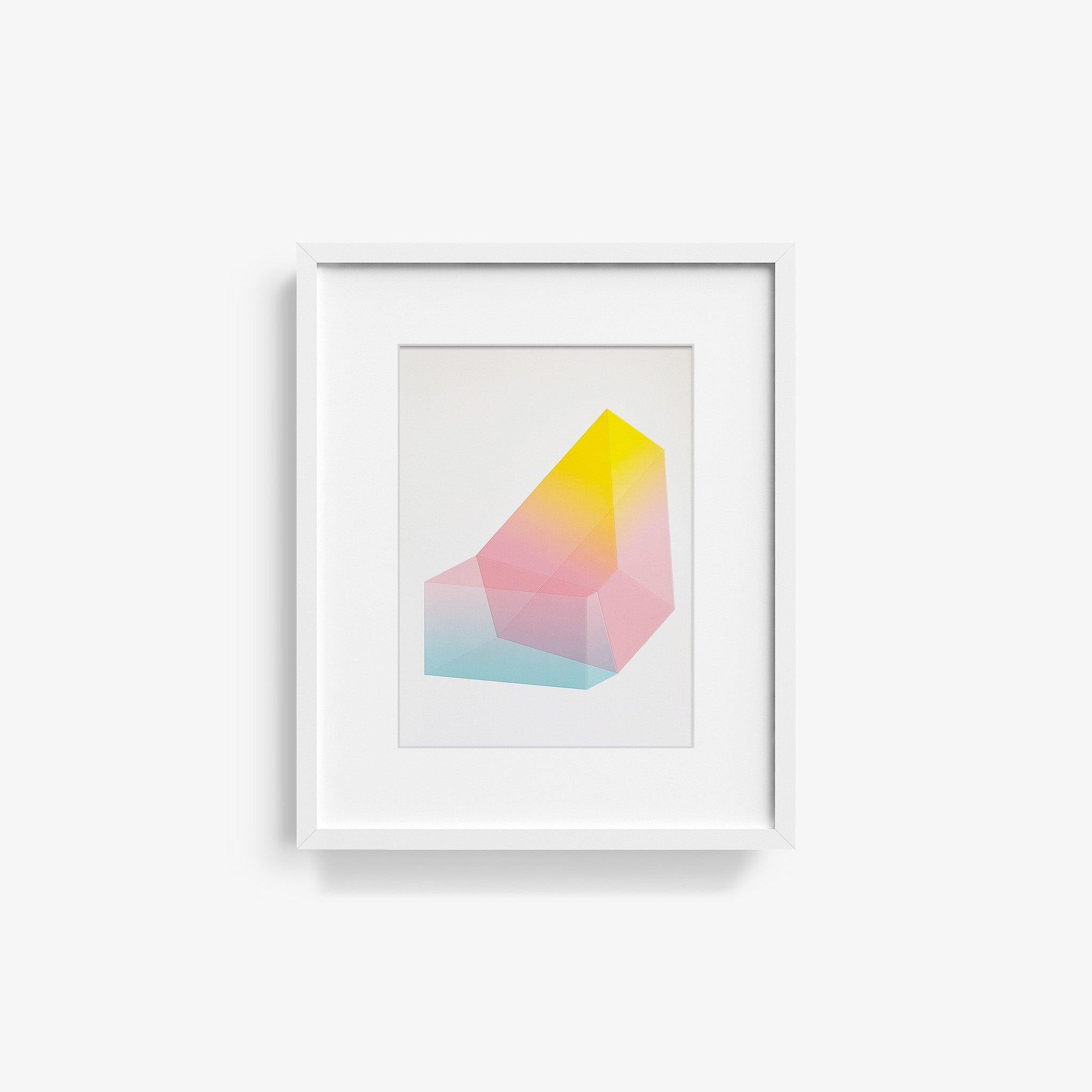 Accidental Happiness, No. 49, Print  by  Accidental Happiness, No. 49 Tappan
