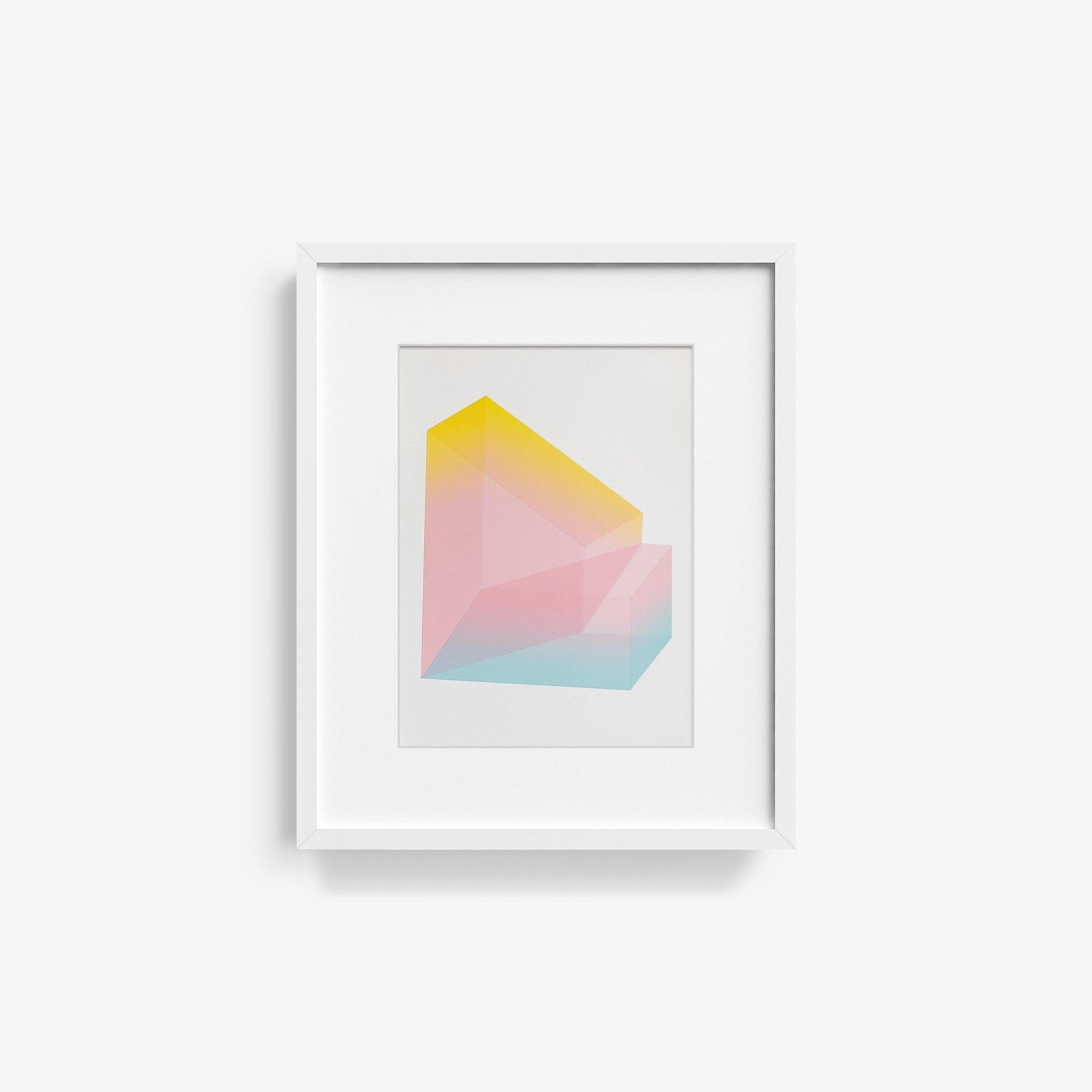 Accidental Happiness, No. 51, Print  by  Accidental Happiness, No. 51 Tappan