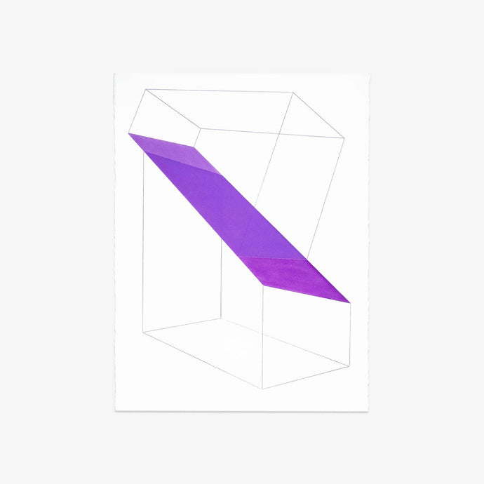 Accidental Happiness (wireframe) Purple