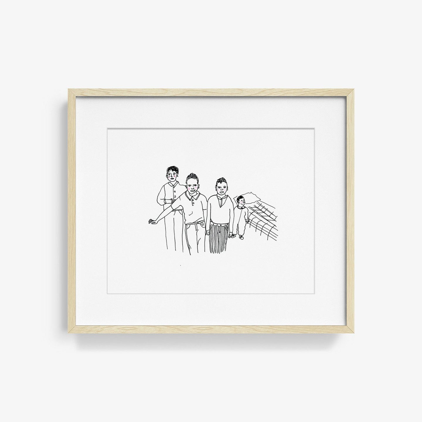 Borden Boys, Print  by  Borden Boys Tappan