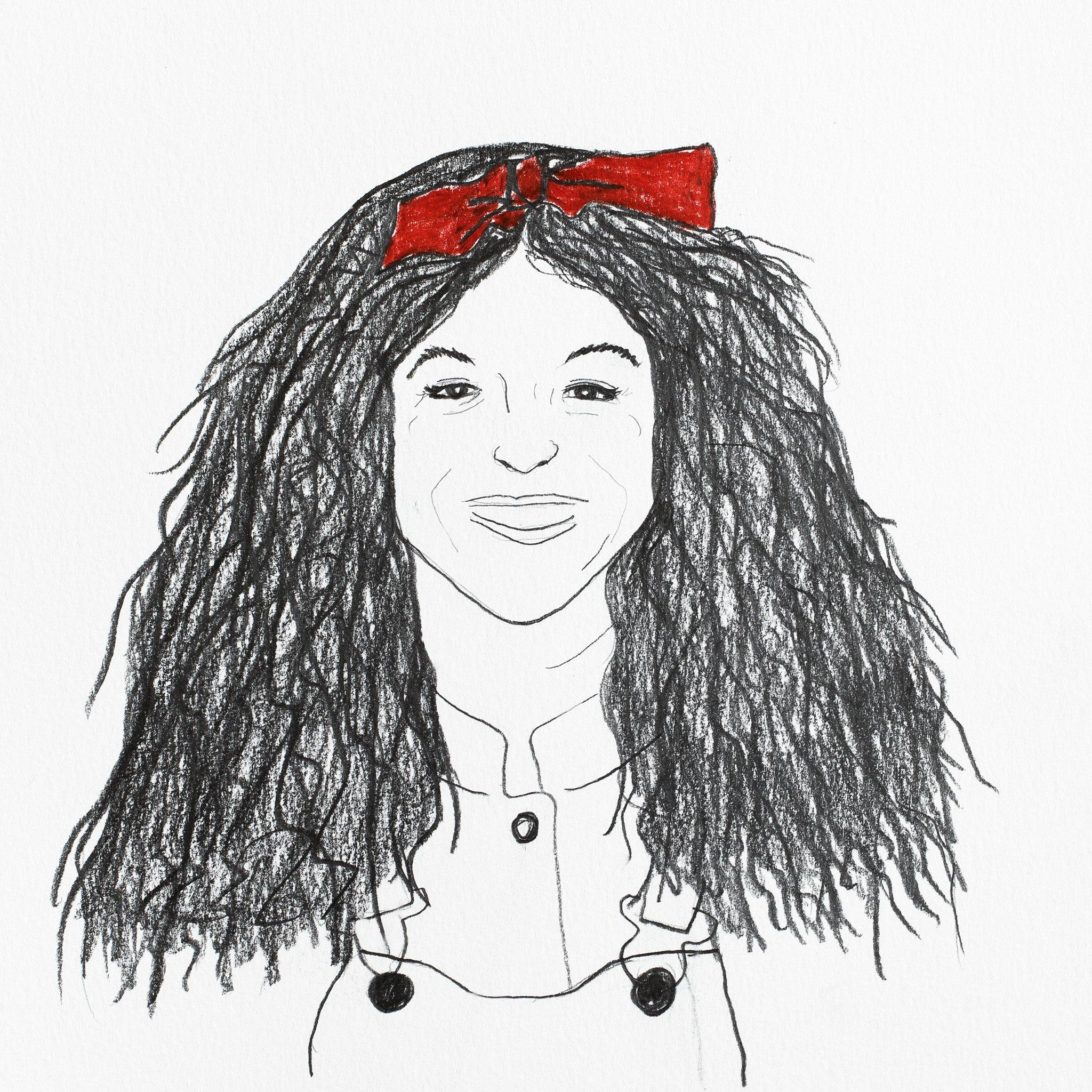 Gilda Radner, Original Work on Paper  by  Gilda Radner Tappan