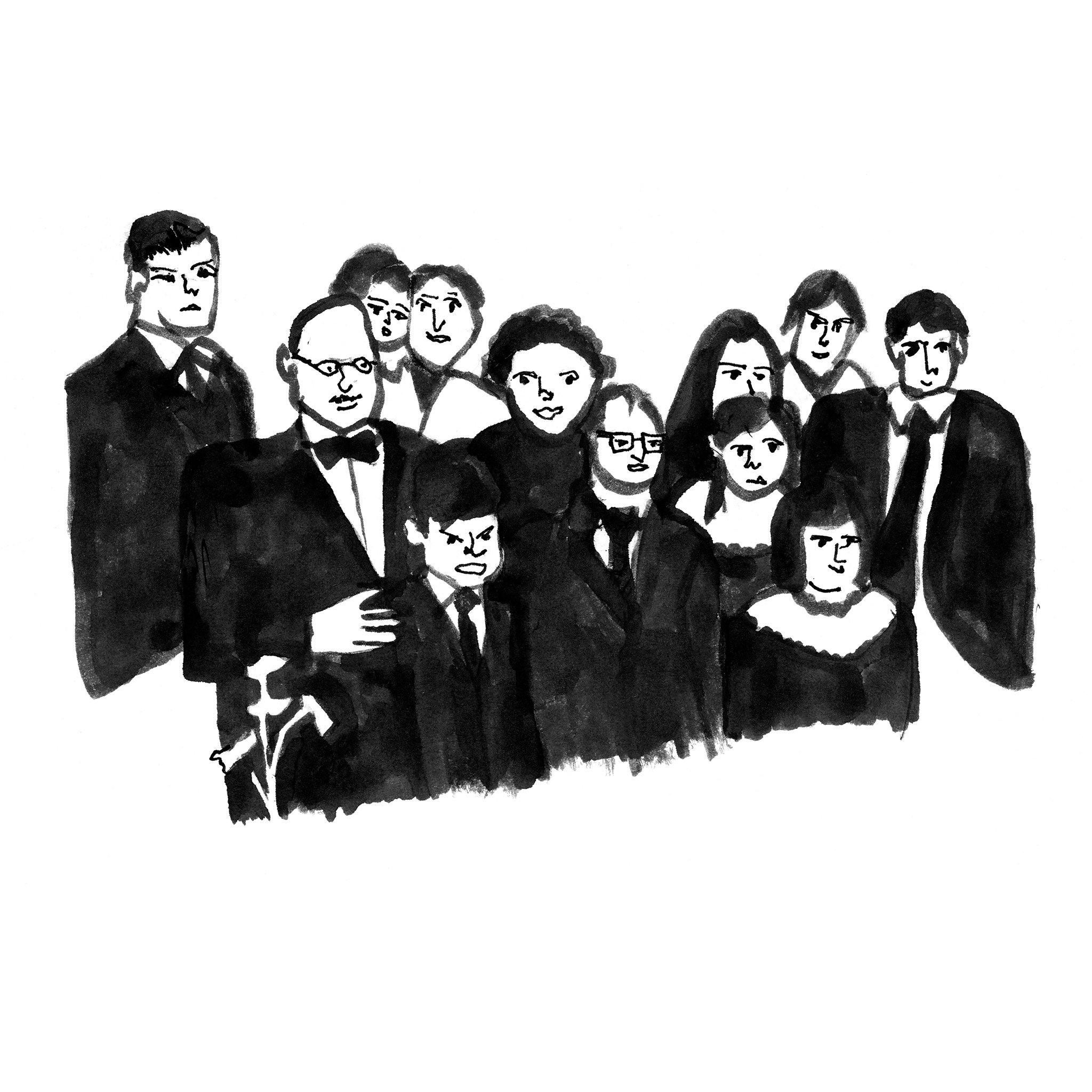 The Cousins, Print  by  The Cousins Tappan