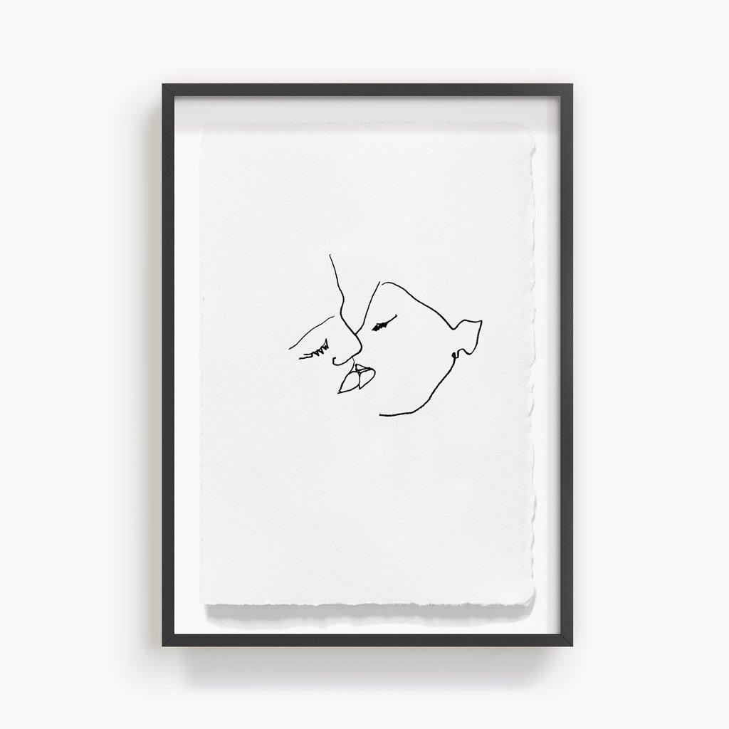 Kiss 3, Print  by  Kiss 3 Tappan