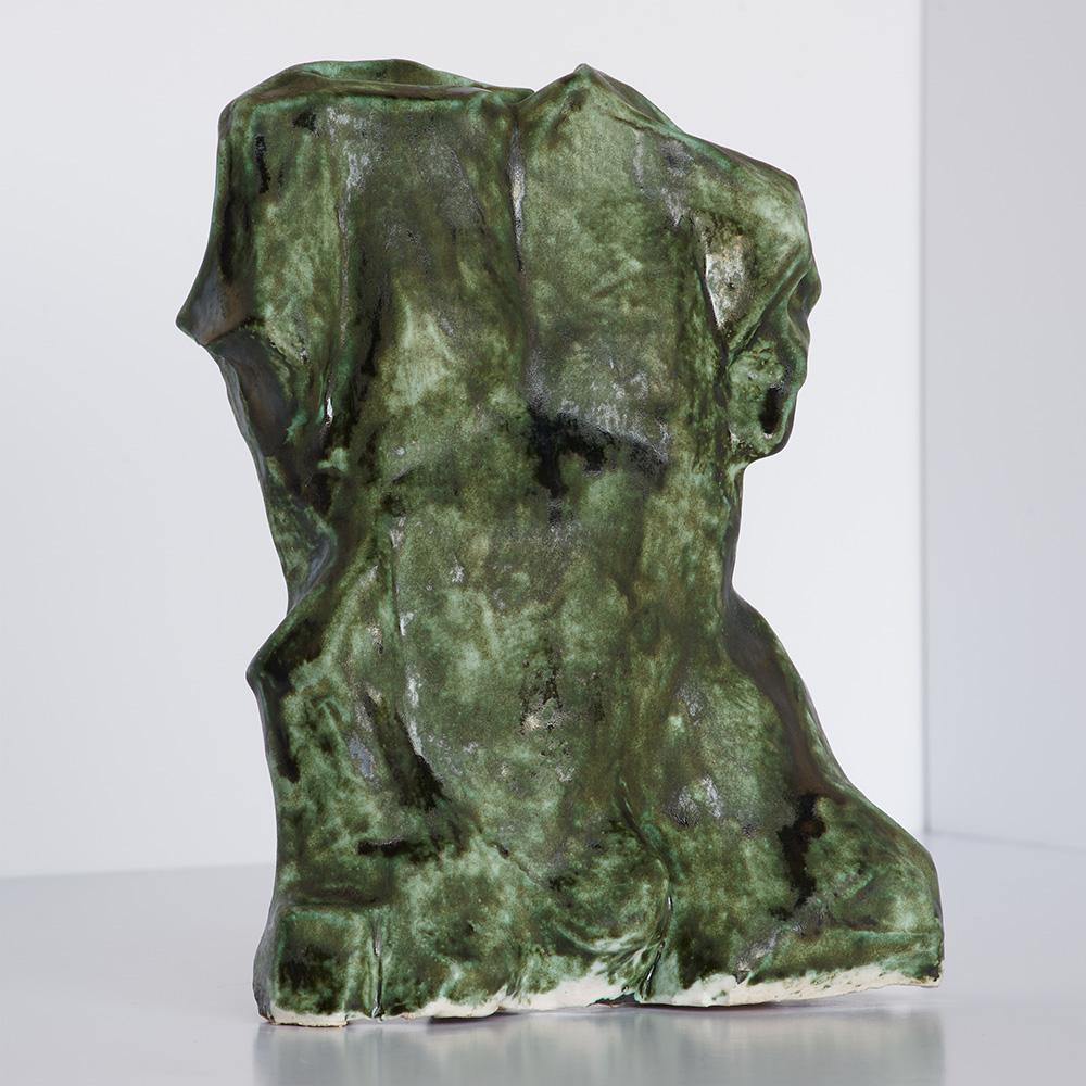 Green Torso, Sculpture  by  Green Torso Tappan