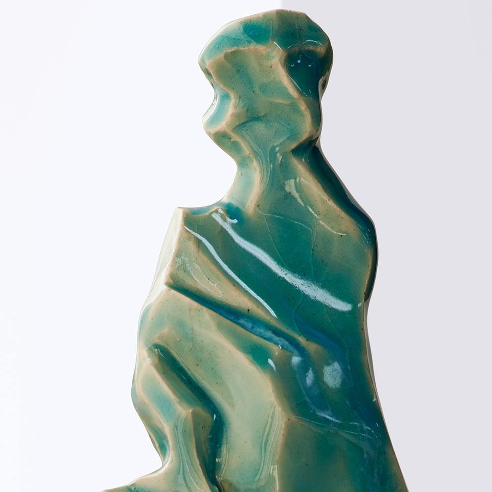 Jagged Blue, Sculpture  by  Jagged Blue Tappan