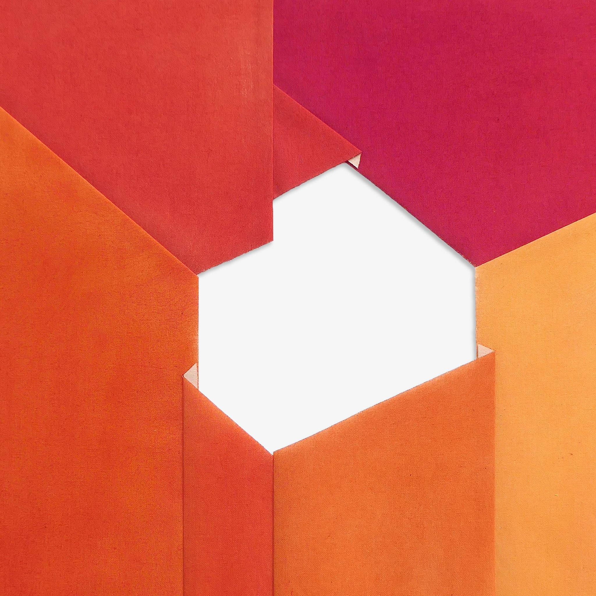 Composition Verdad #5 (Orange-Crimson)