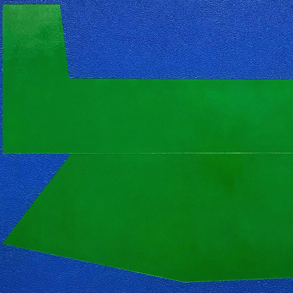 Green on Blue I, Painting  by  Green on Blue I Tappan