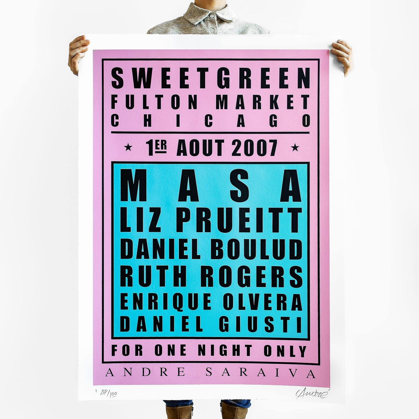 Sweetgreen x Andre: Dream Dinner Poster
