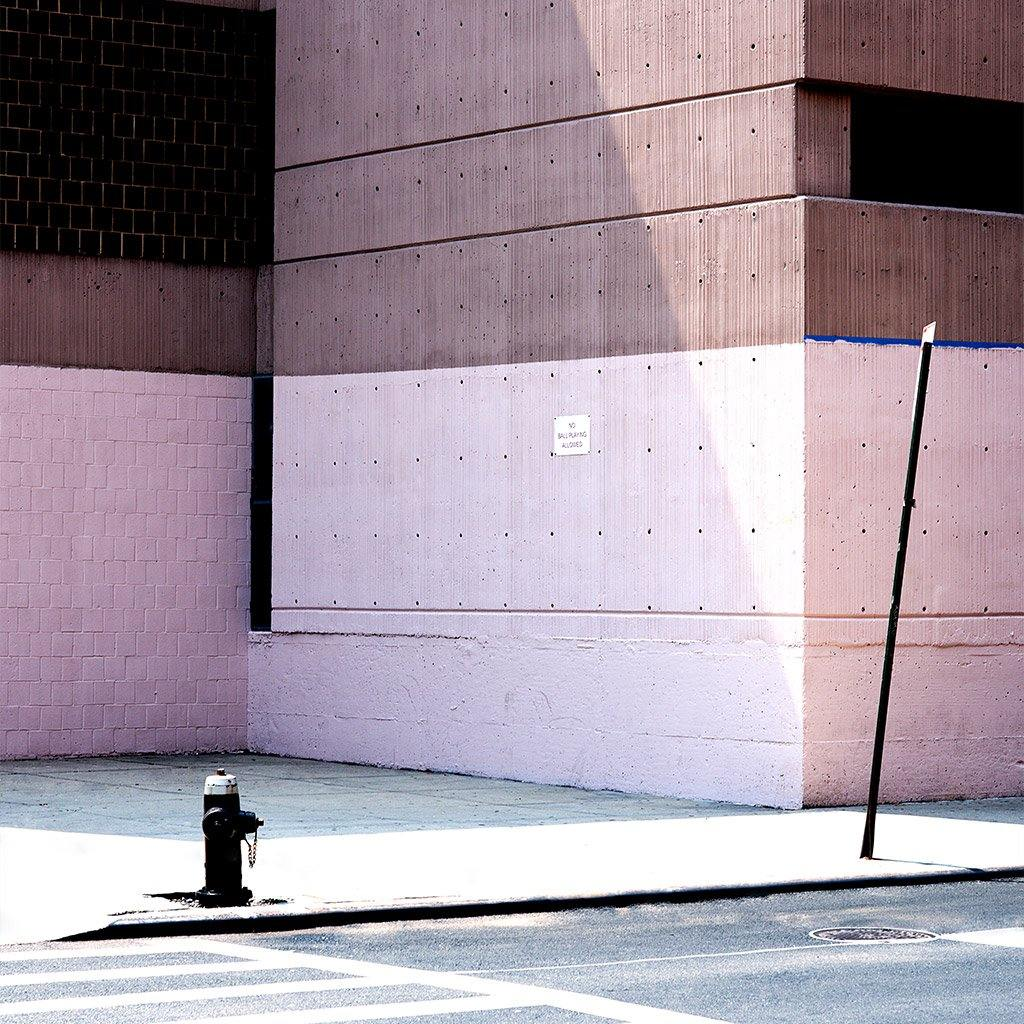 New York Wall Pink