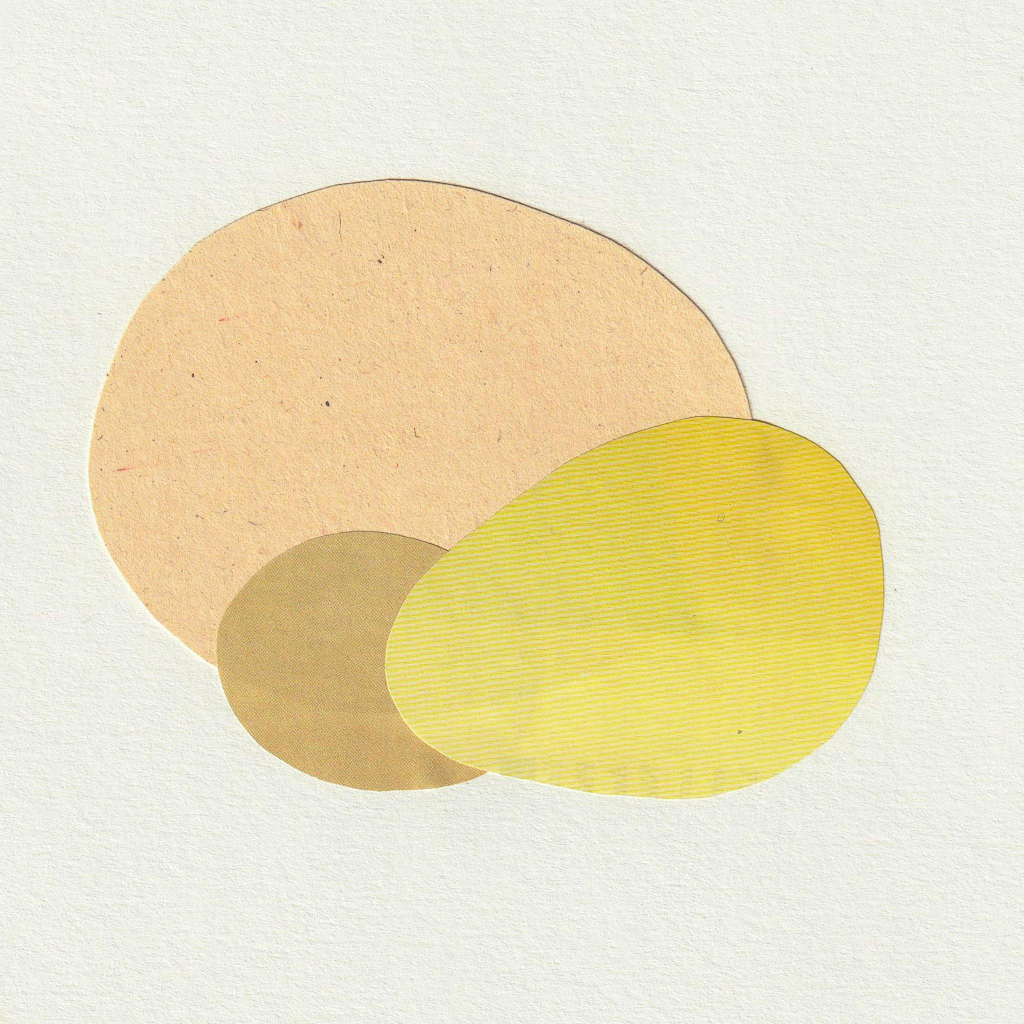 Etude du Jaune 18, Original Work on Paper  by  Etude du Jaune 18 Tappan