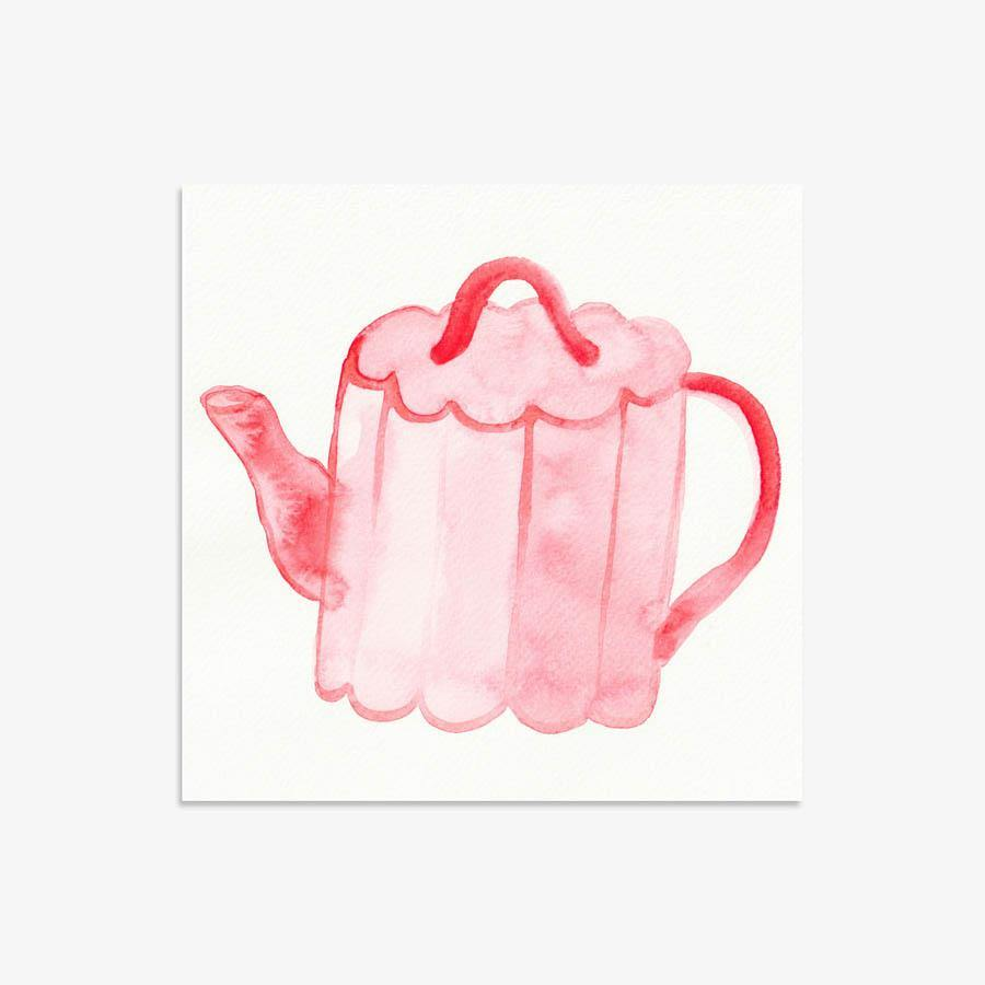 Tea Vessel 194, Original Work on Paper  by  Tea Vessel 194 Tappan