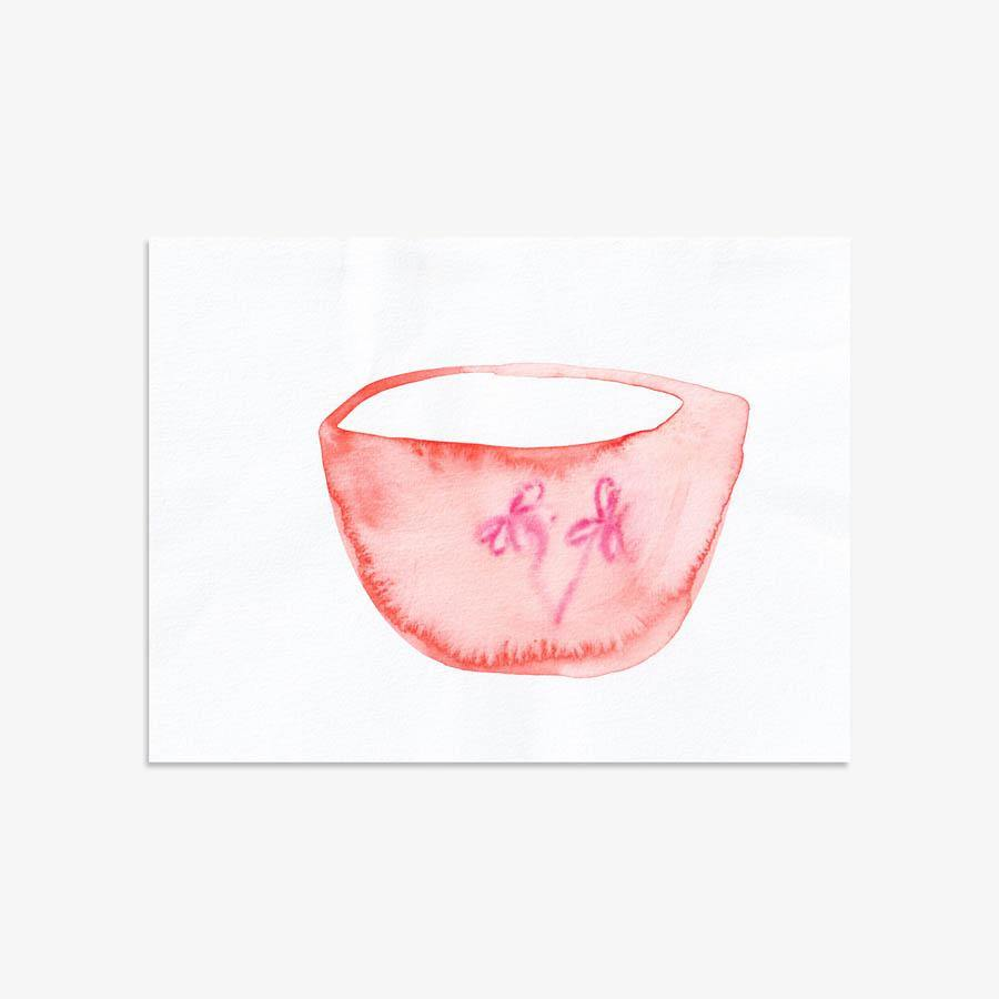 Tea Vessel 202, Original Work on Paper  by  Tea Vessel 202 Tappan
