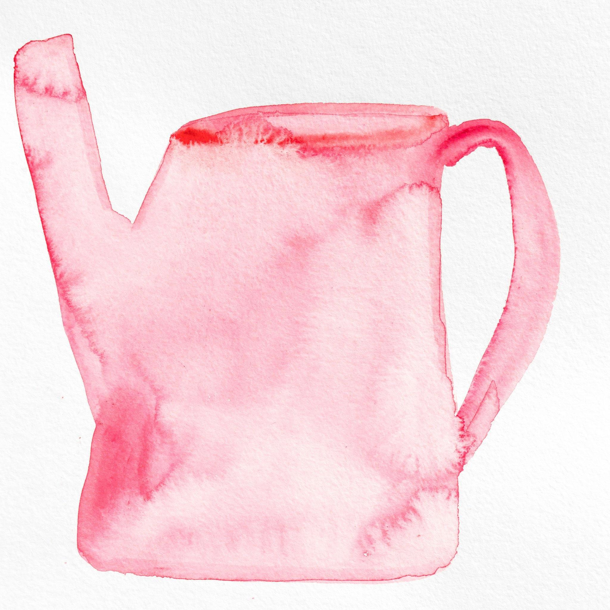 Tea Vessel 38, Original Work on Paper  by  Tea Vessel 38 Tappan
