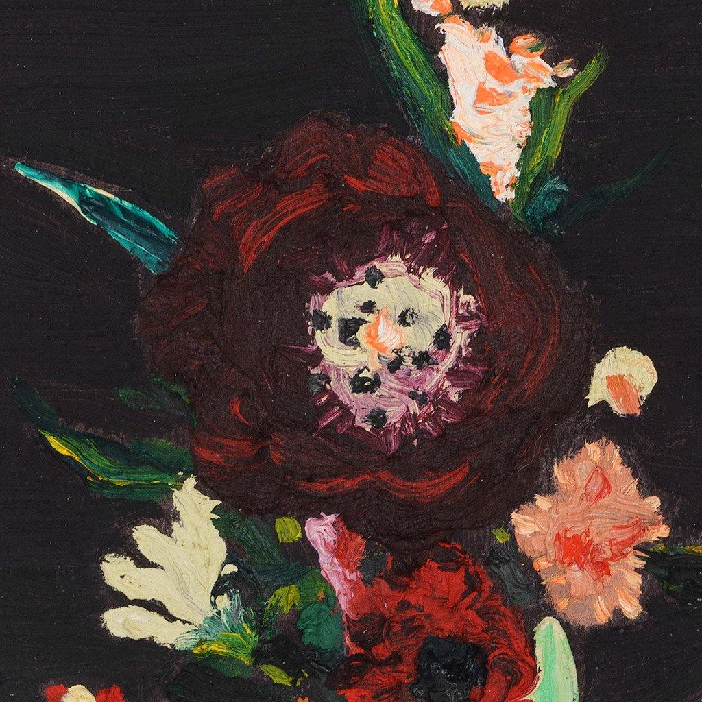 Dark Flowers Works On Paper Kelsey Shultis Tappan Collective