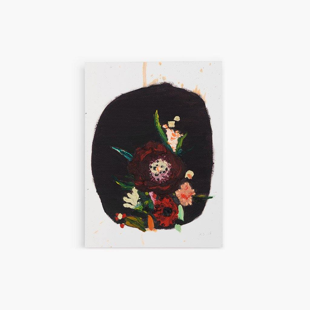 Dark Flowers, Painting  by  Dark Flowers Tappan
