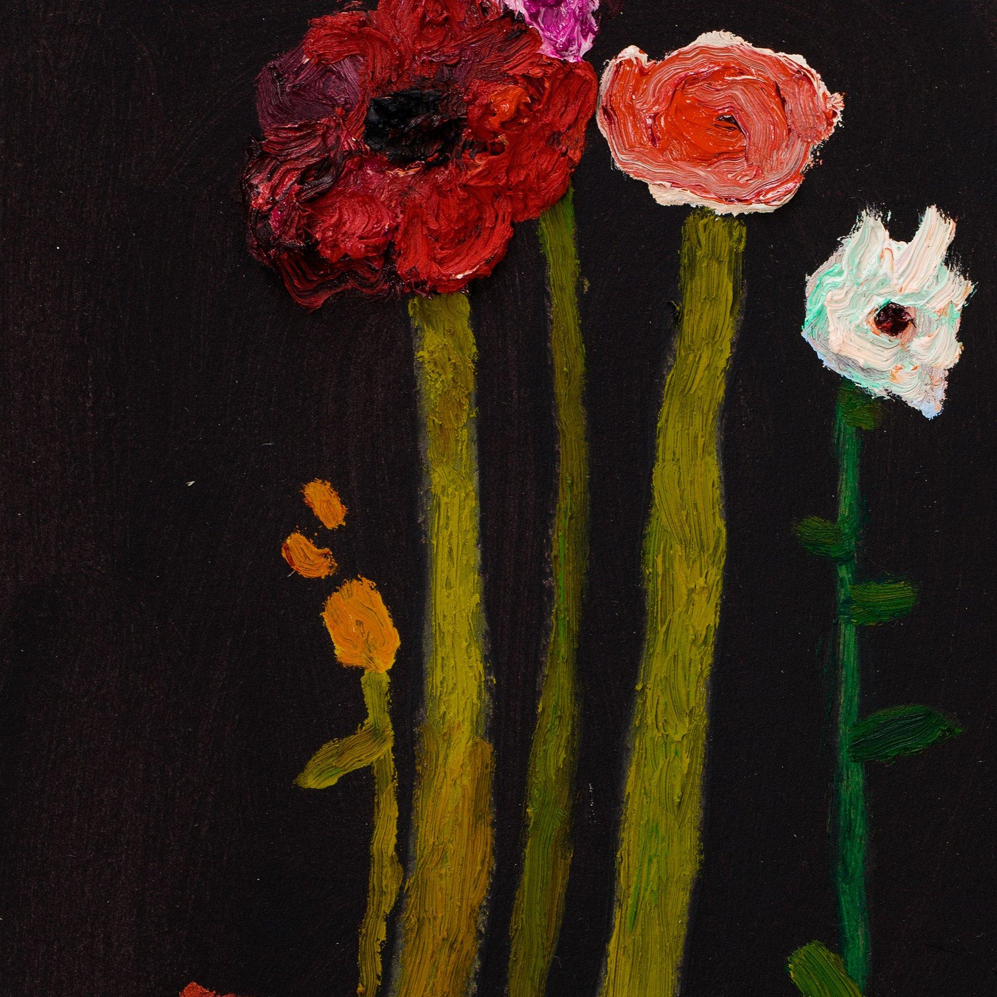 Flower Sticks, Original Work on Paper  by  Flower Sticks Tappan
