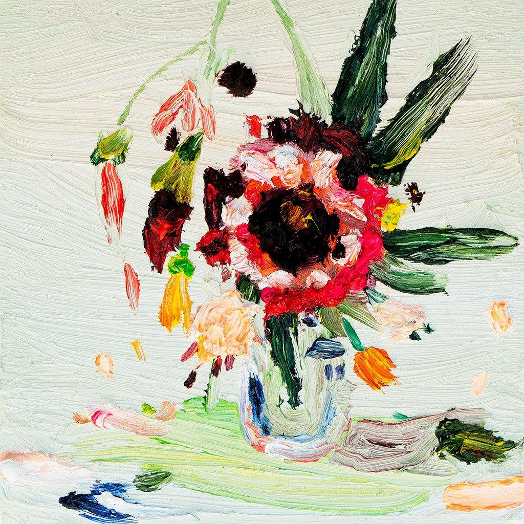 Middle Flower, Painting  by  Middle Flower Tappan