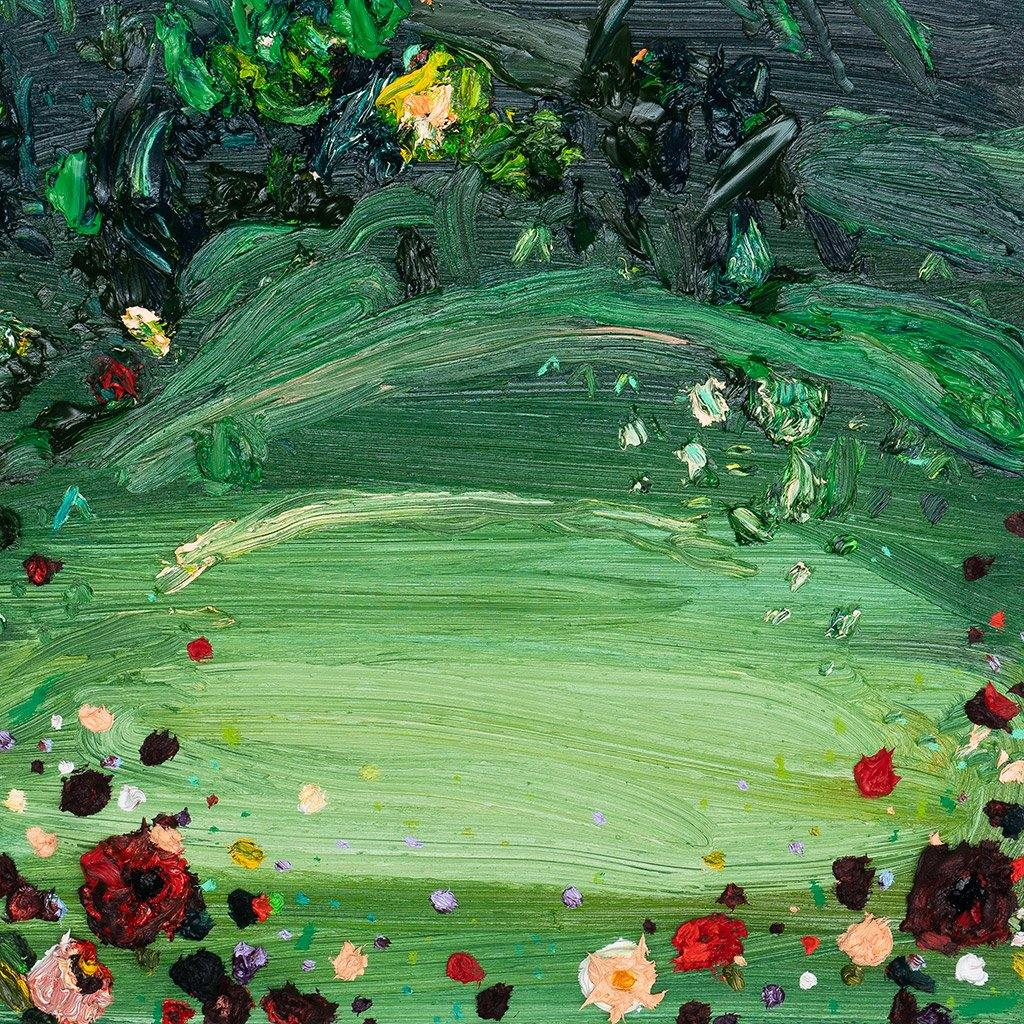 Moss Study IV, Painting  by  Moss Study IV Tappan