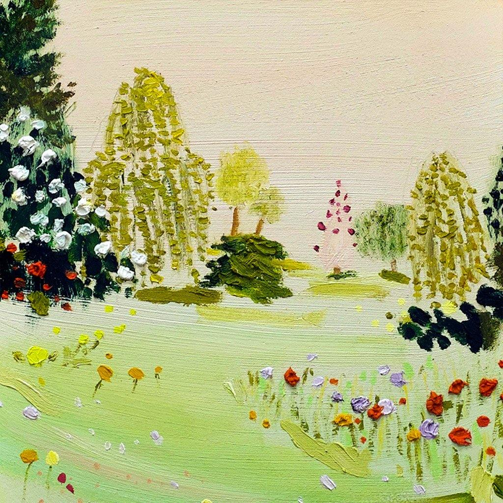 Willows, Painting  by  Willows Tappan