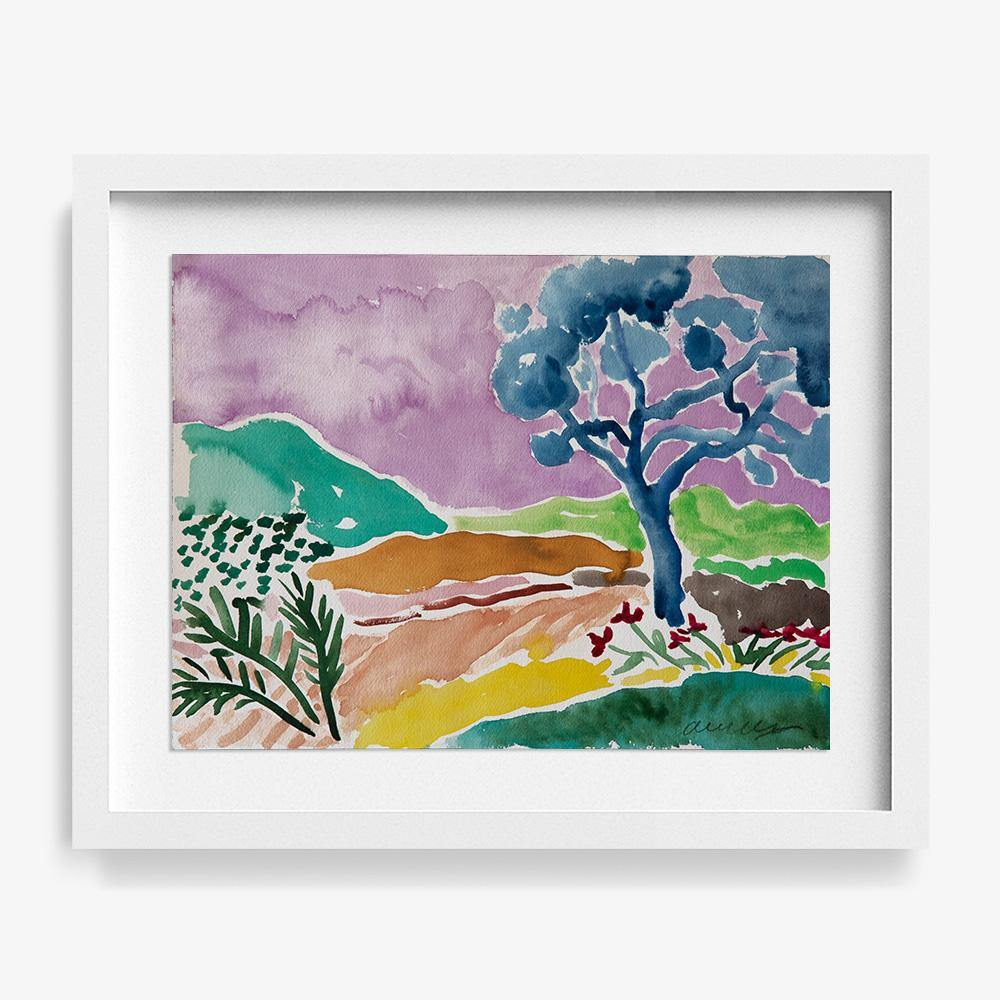 Lilac Sky, Original Work on Paper  by  Lilac Sky Tappan