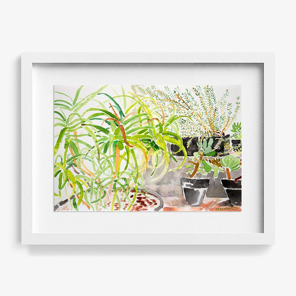 Lingen Garden 2, Original Work on Paper  by  Lingen Garden 2 Tappan