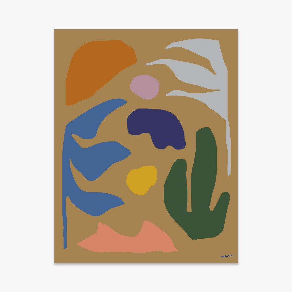 Desert Winter, Print  by  Desert Winter Tappan