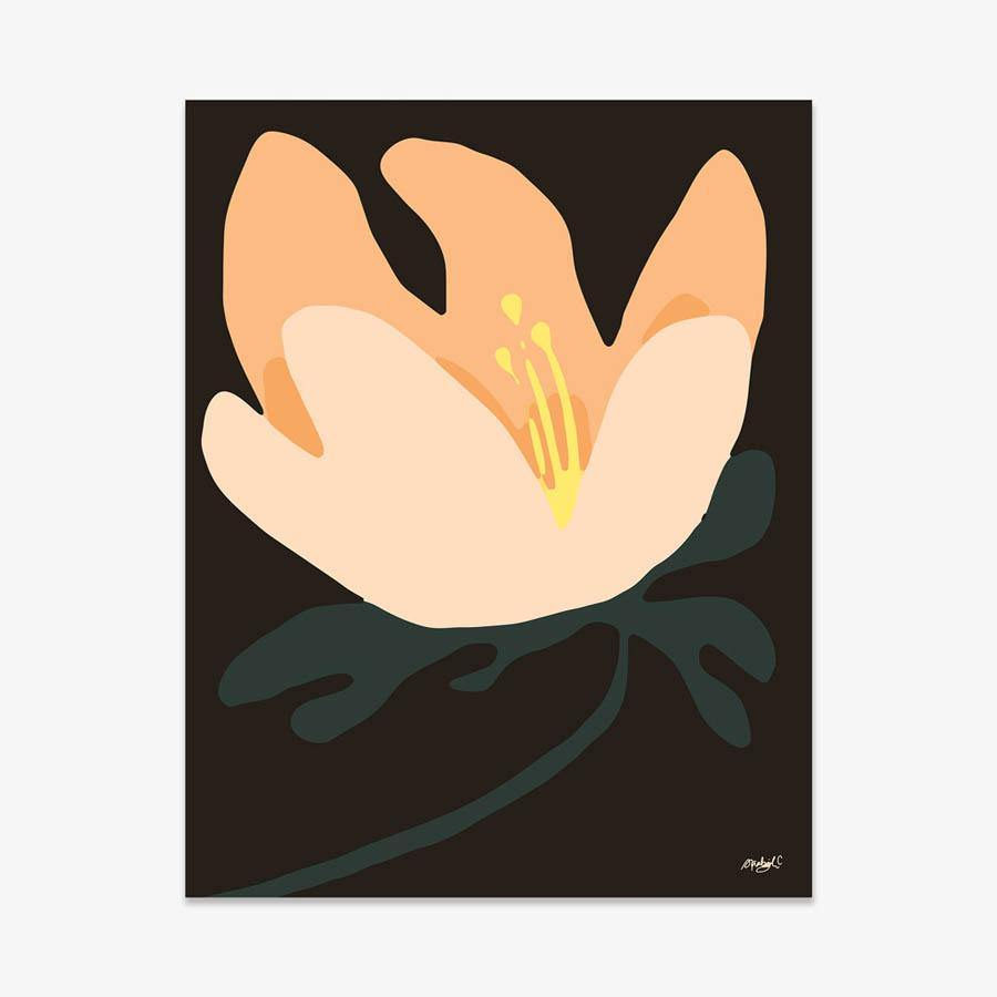 Melancholy Bloom, Print  by  Melancholy Bloom Tappan