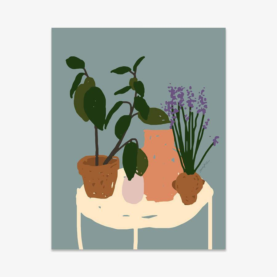 Room Vignette, Print  by  Room Vignette Tappan