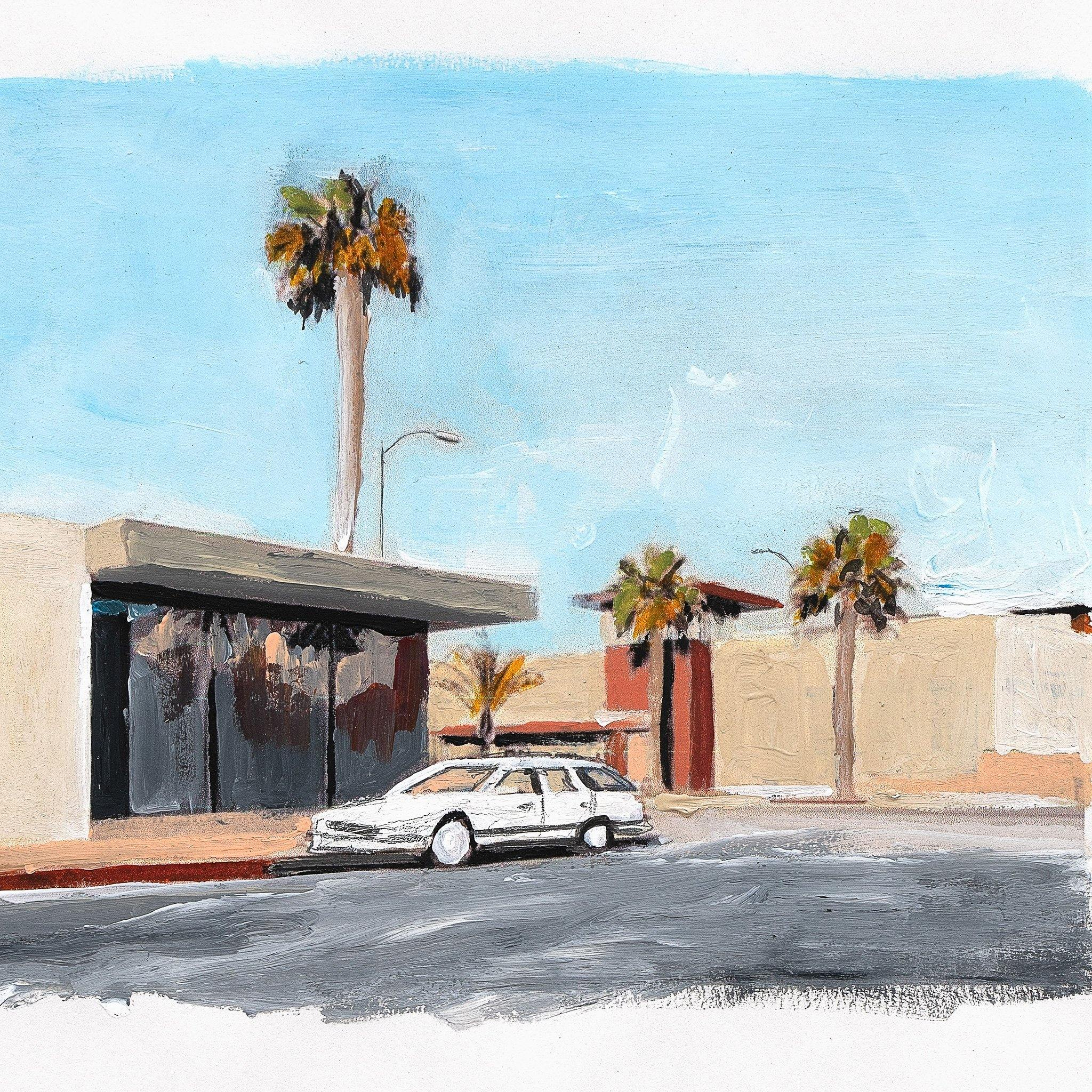 Untitled (Roadside), Original Work on Paper  by  Untitled (Roadside) Tappan