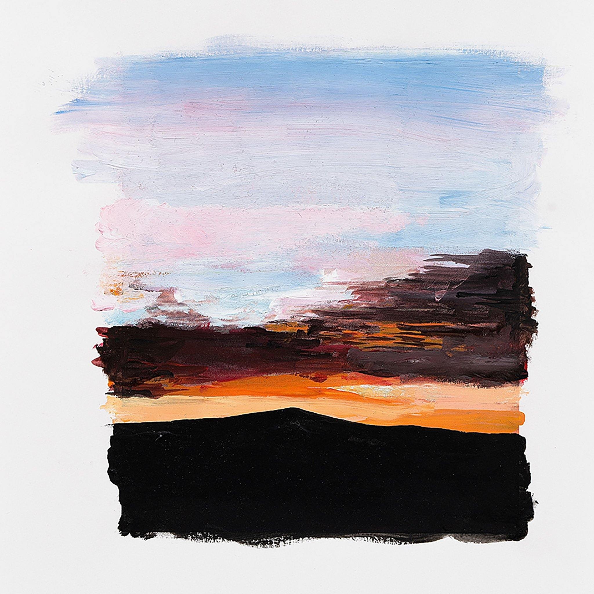 Untitled (Sunset), Original Work on Paper  by  Untitled (Sunset) Tappan