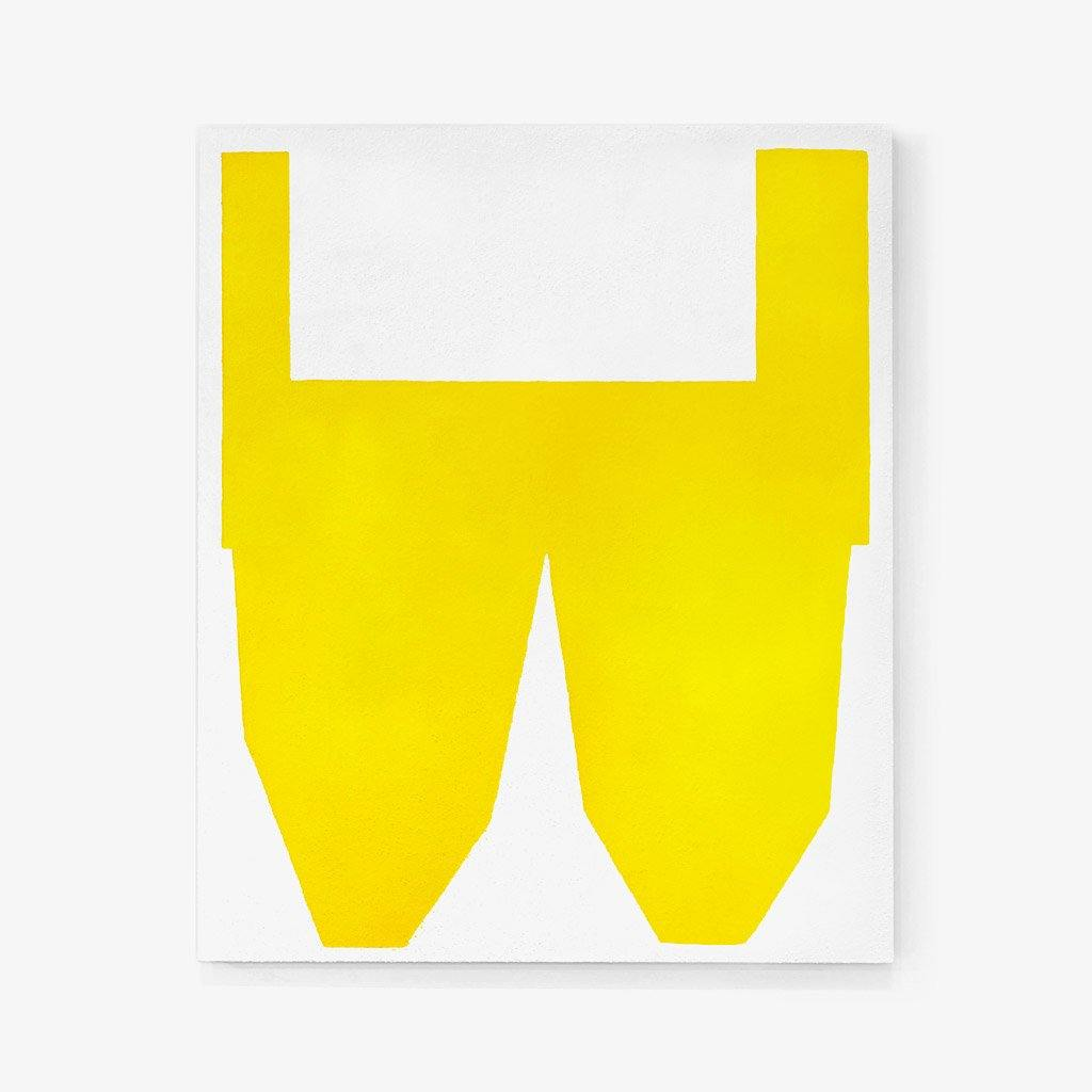 Yellow on White II, Painting  by  Yellow on White II Tappan