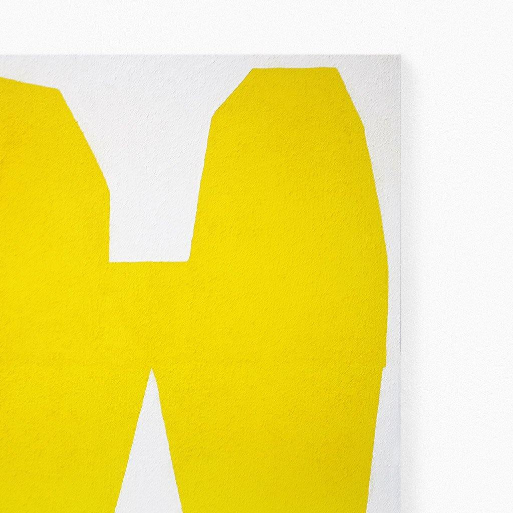 Yellow on White I