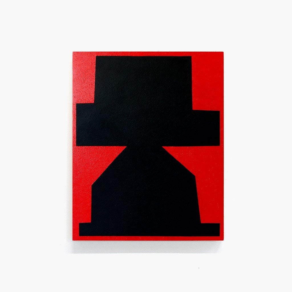 Black on Red II, Painting  by  Black on Red II Tappan