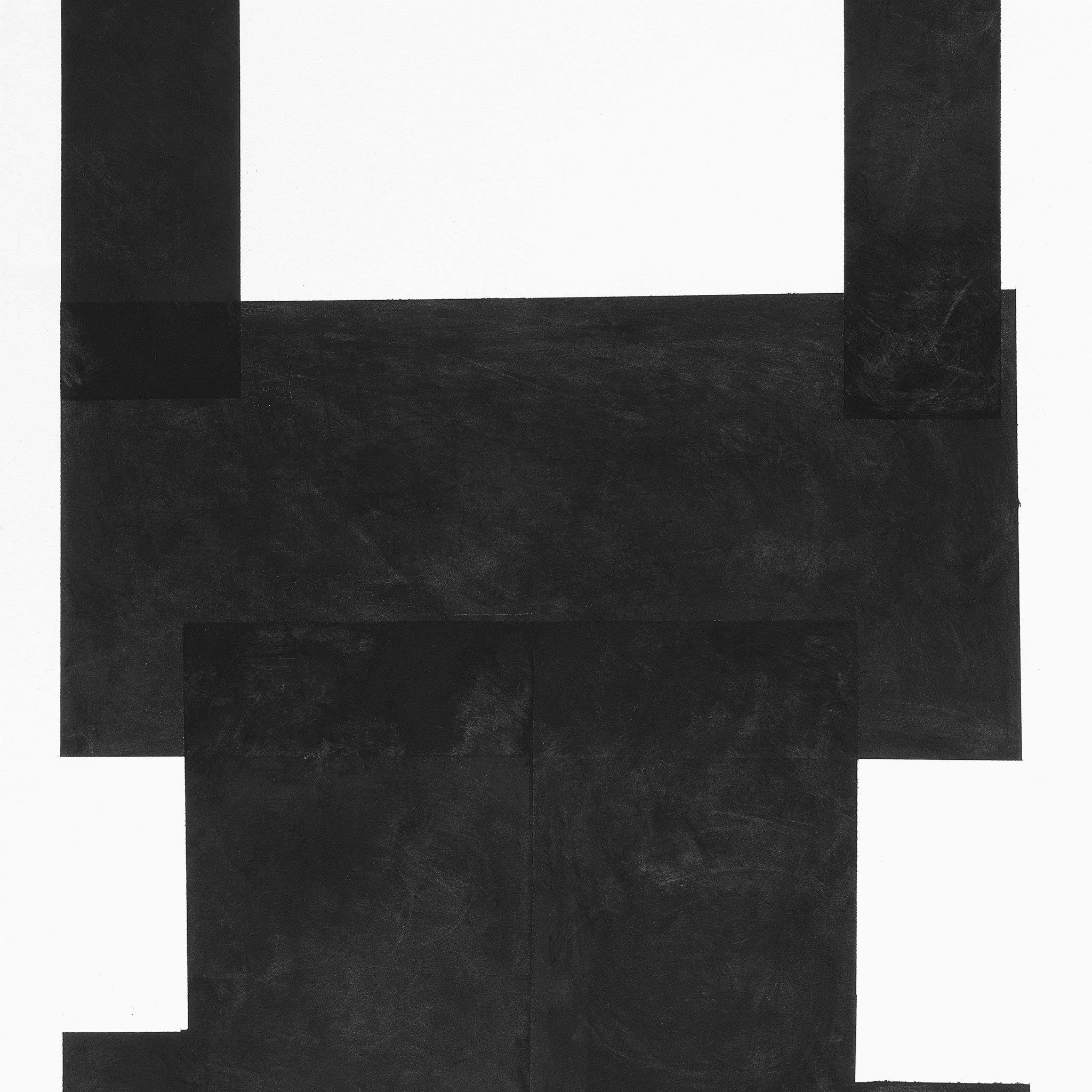 Black on White Paper II, Original Work on Paper  by  Black on White Paper II Tappan