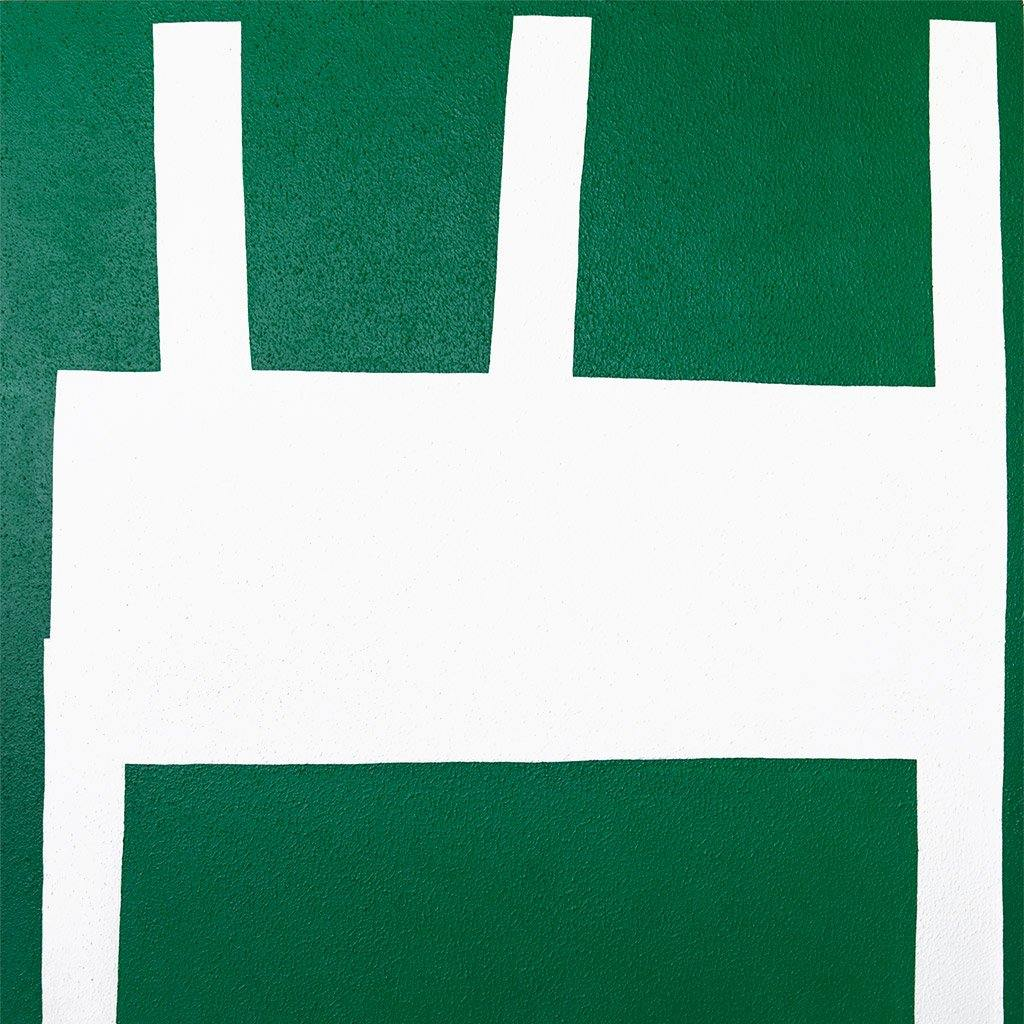 White on Green II, Painting  by  White on Green II Tappan