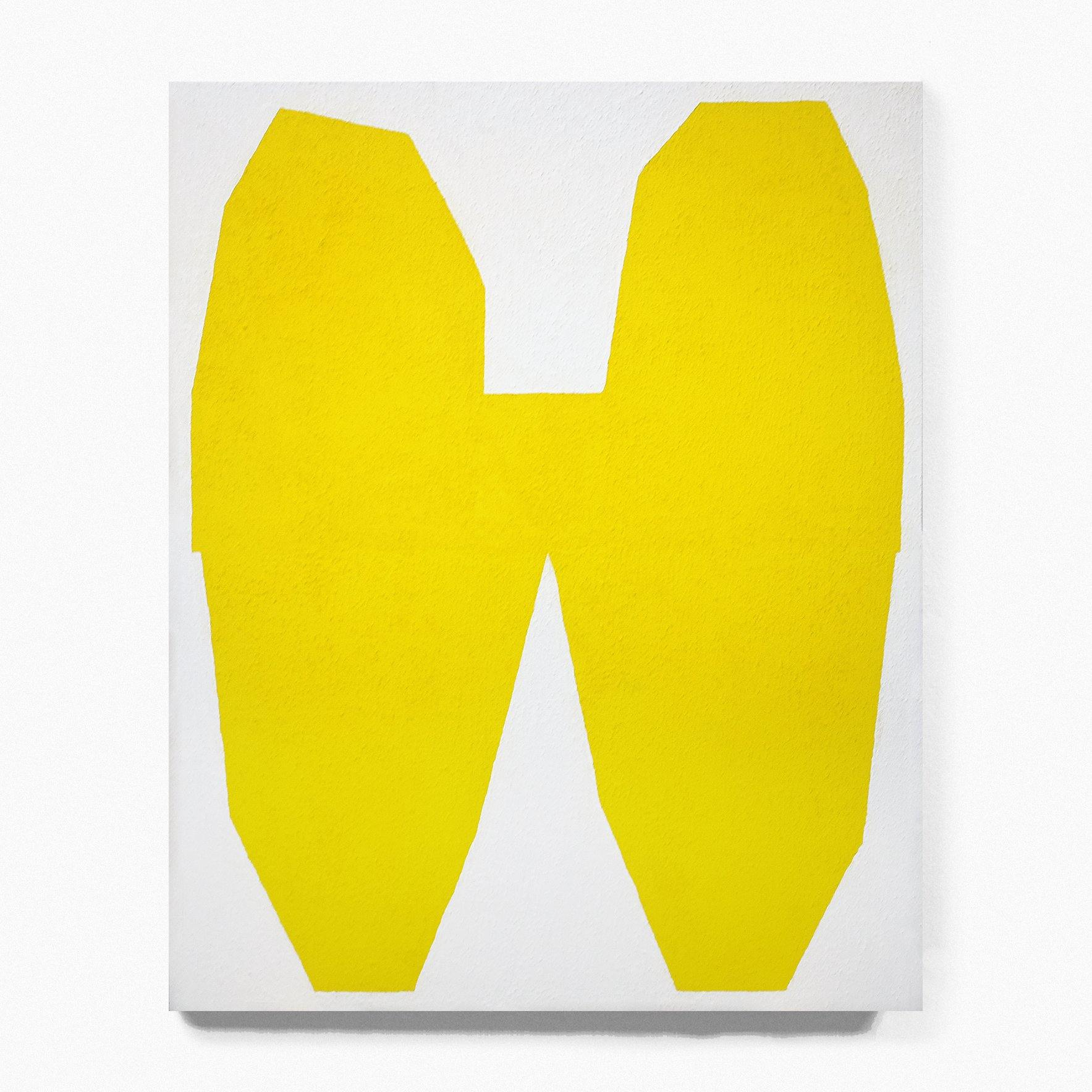 Yellow on White I, Painting  by  Yellow on White I Tappan