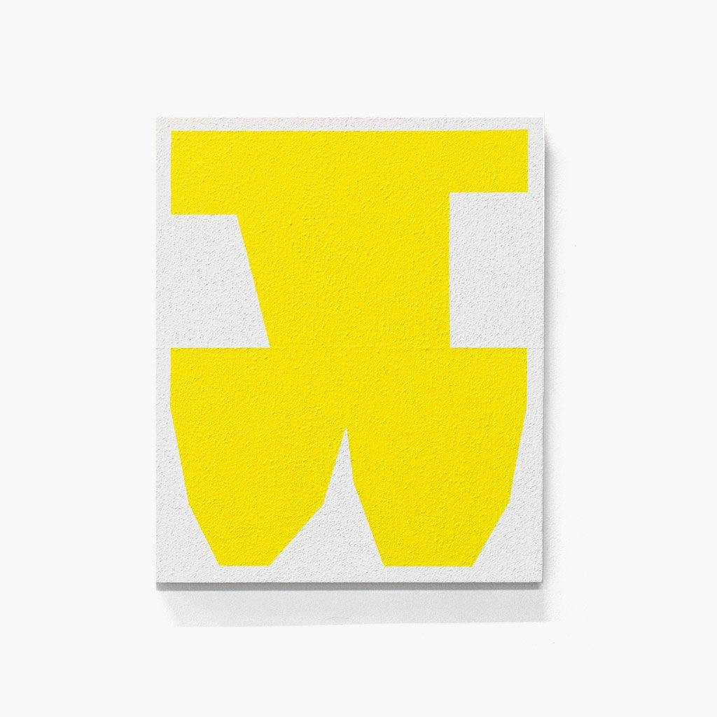 Yellow on White III, Painting  by  Yellow on White III Tappan