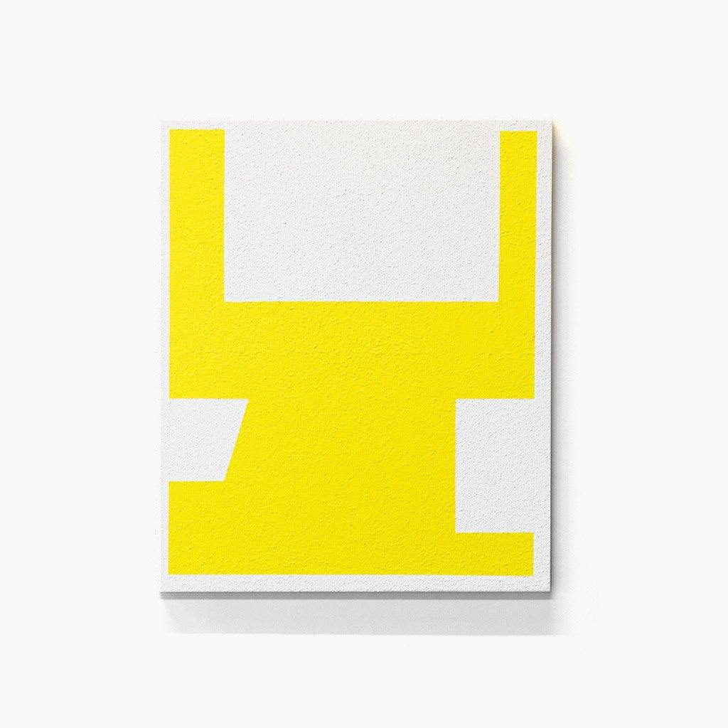 Yellow on White IV, Painting  by  Yellow on White IV Tappan