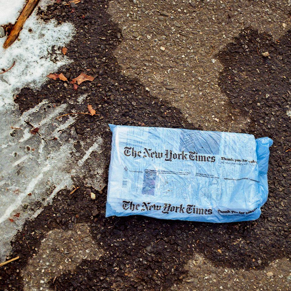 New York Times, Photograph  by  New York Times Tappan