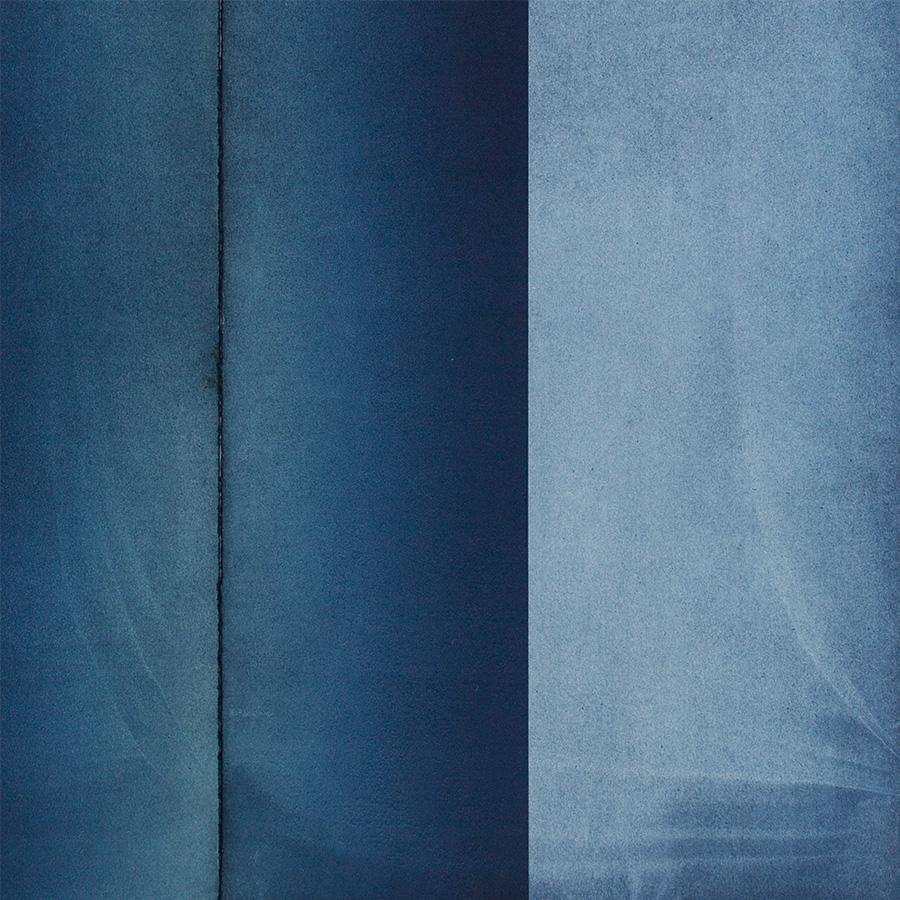 Pillar (in Indigo), Original Work on Paper  by  Pillar (in Indigo) Tappan