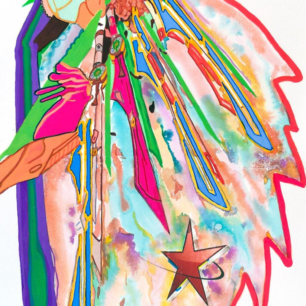 Star Child II, Painting  by  Star Child II Tappan