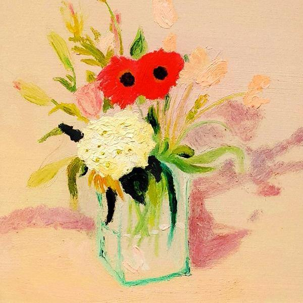 Rosy Posy, Painting  by  Rosy Posy Tappan