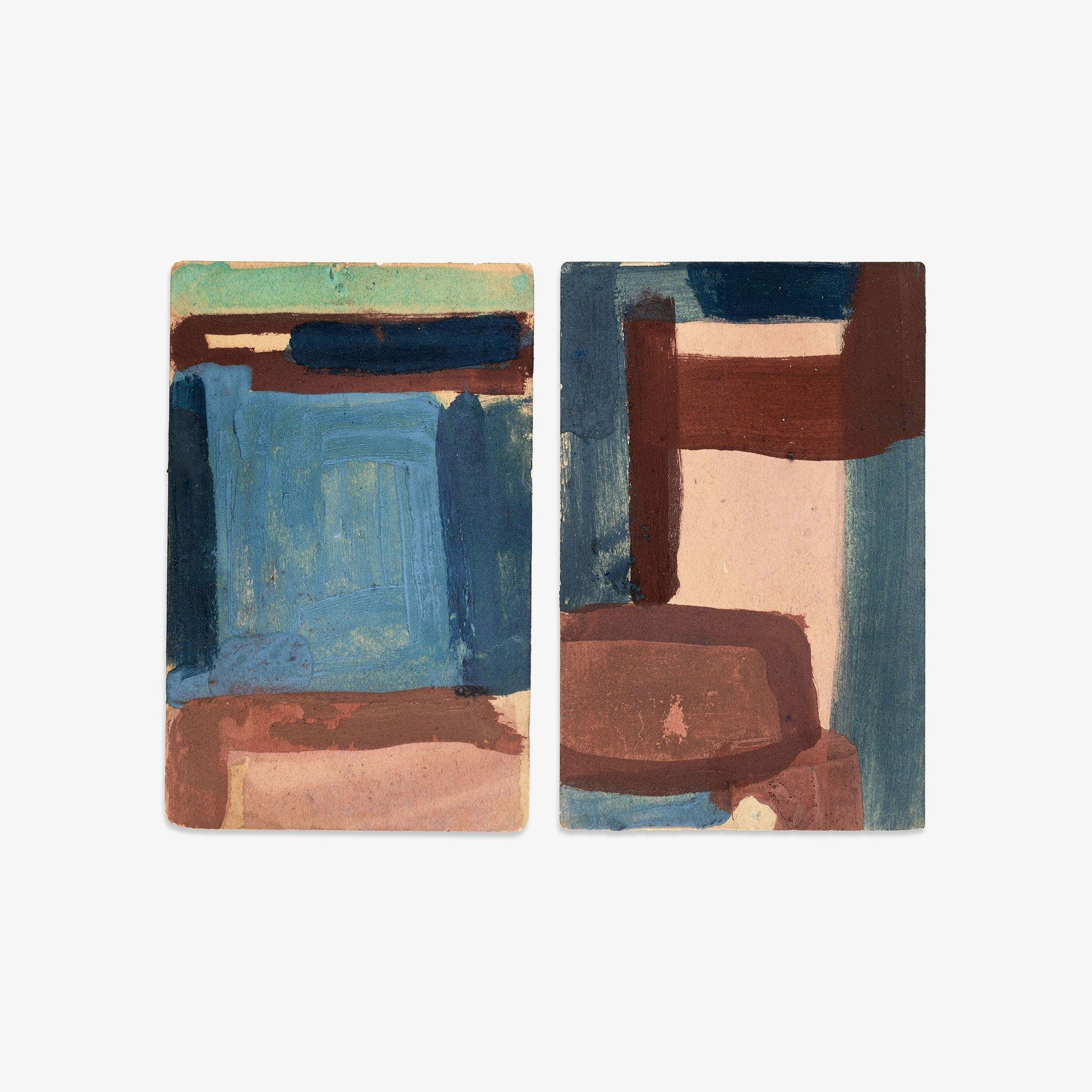Untitled (19, 20), Original Work on Paper  by  Untitled (19, 20) Tappan