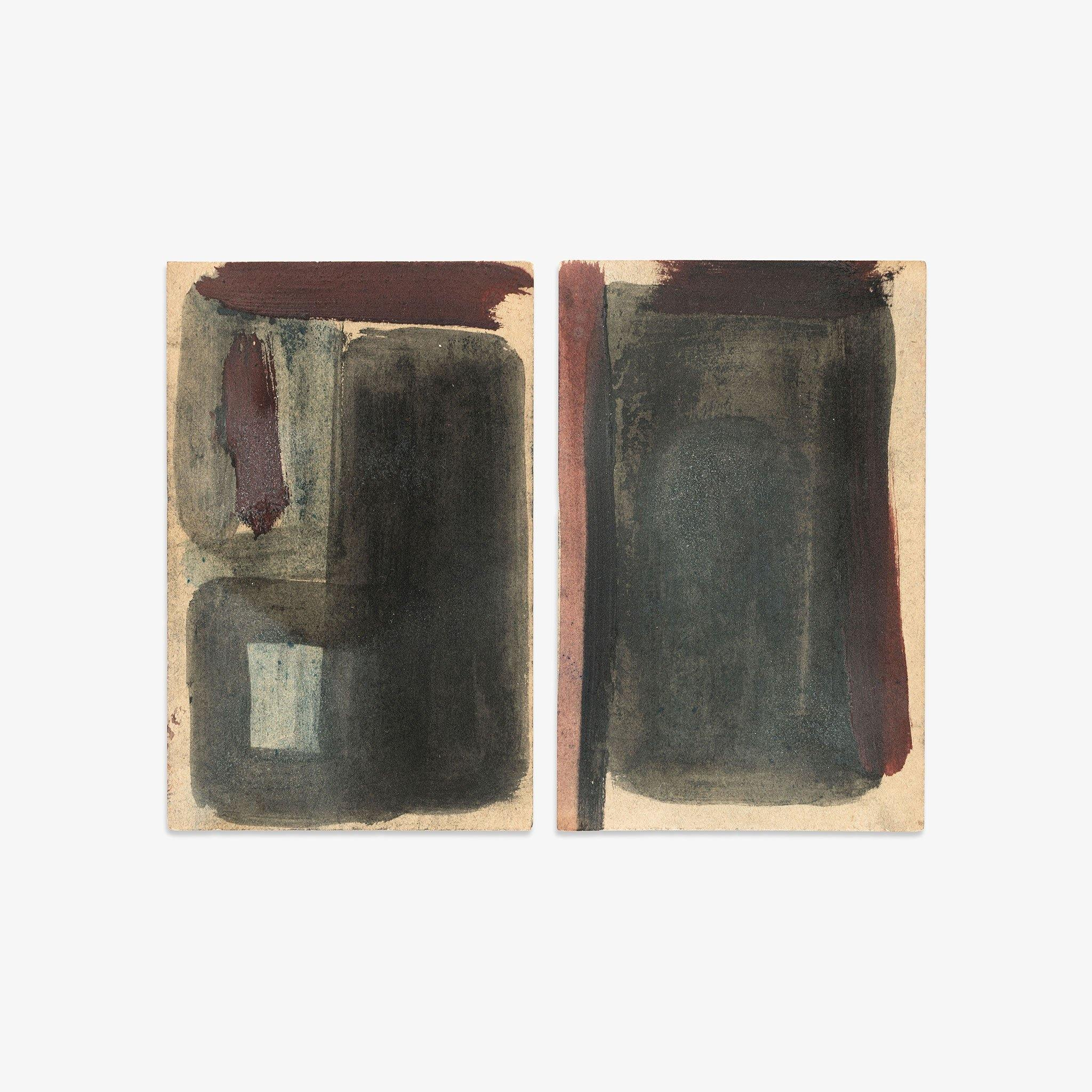 Untitled (23, 24), Original Work on Paper  by  Untitled (23, 24) Tappan
