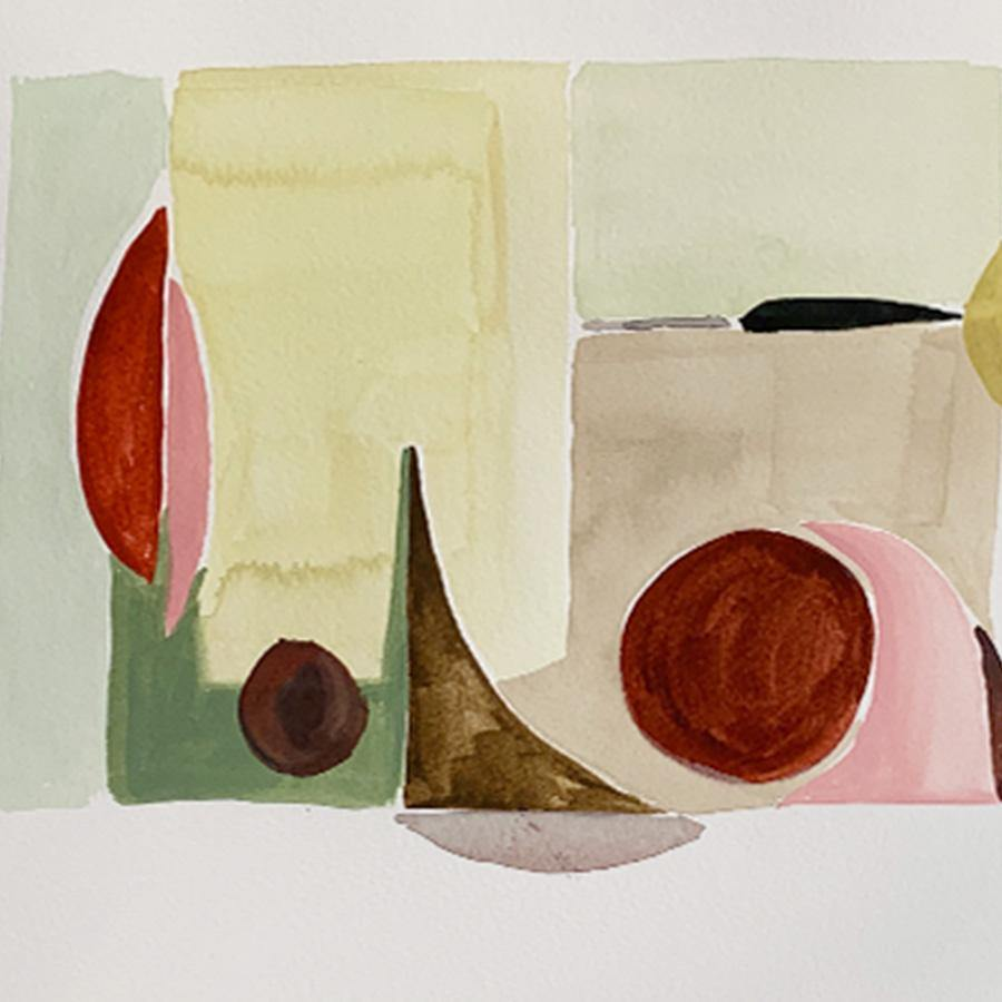 Study 12, Original Work on Paper  by  Study 12 Tappan