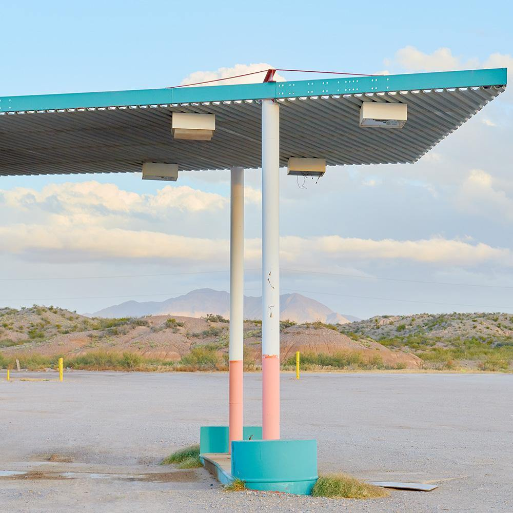 Texas Gas Station, Photograph  by  Texas Gas Station Tappan